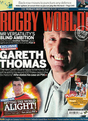 RUGBY WORLD MAGAZINE February 2008