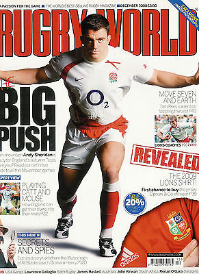 RUGBY WORLD MAGAZINE December 2008