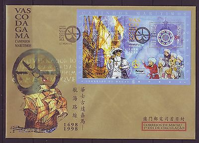 MACAO/MACAU - SGMS1047 500th ANNIV VOYAGE INDIA CORRECT DATE - FDC