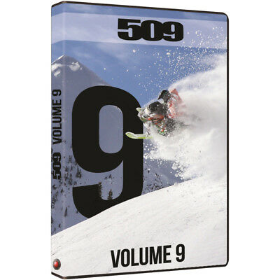 509: Volume 9 Snowmobile DVD Video - Mountain Powder Chris Burandt 509-DVD-VO9