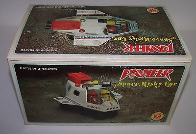 Chi-Lan Pioneer Space Risky Car Battery Operated NIB Little Figures Unused
