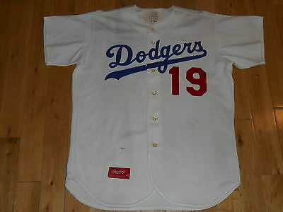 detailed look 4ce15 1272f closeout brooklyn dodgers authentic 1955 jackie robinson ...