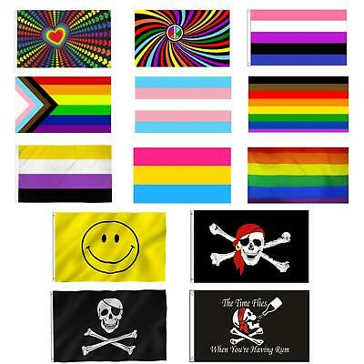 Large 5x3ft National Flags Country Football World Cup Rugby Support Decorations