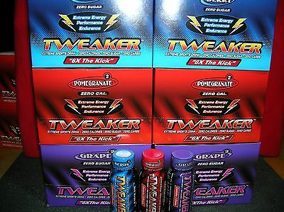 Tweaker Extreme Energy Shot/72 Bottles-U Choose Flavors/this Stuff Is Strong!!!
