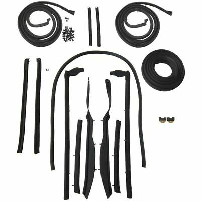 1962 Buick Chevy Oldsmobile Pontiac 2nd Type Convertible Body Weatherstrip Kit