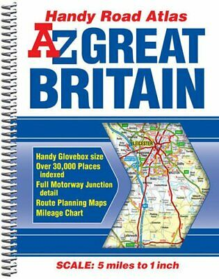 Great Britain Handy Road Atlas 2014 (A-Z Road Atlas) by Geographers A-Z Map Co L