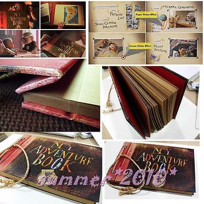 UP, My adventure book, Photo album Hand Made Movie theme for lover 40 pages New