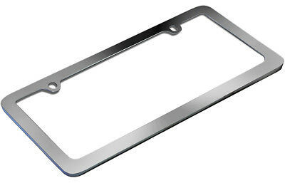 OxGord Metal License Plate Frame HD Stainless Steel Chrome Car SUV Van Truck B