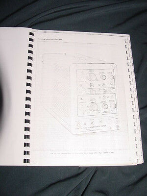 Tektronix Type 132 Power Supply with Type CA Plug-In Instruction Manual--1966