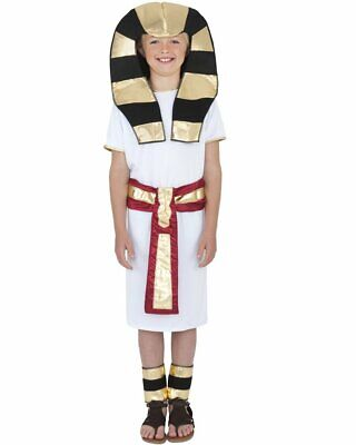 CK464 Egyptian Boys Roman Pharaoh King Of The Nile Fancy Dress Book Week Costume