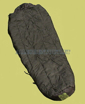 Intermediate Cold Weather Sleeping Bag Black Mss Us Military -10° Good Condition
