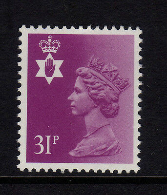 GB Northern Ireland 1984 Regional Machin 31p SG NI64 MNH