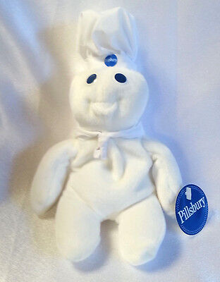 Pillsbury Doughboy Plush Beanbag Toy 1997 Dakin 6""