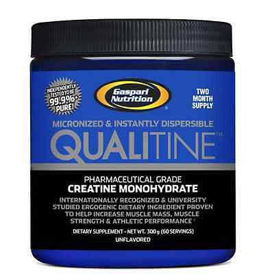 Gaspari Qualitine Creatine Monohydrate Powder - Muscle Growth - 300G