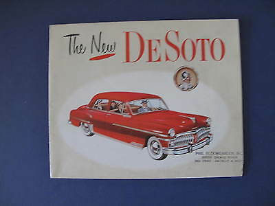 1950 DeSoto Full Line Sales Brochure C5934