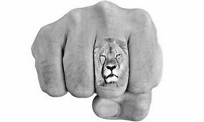 3 Temporary Tattoo Endangered Animal Finger Tattoos worn by Celebrities, choice
