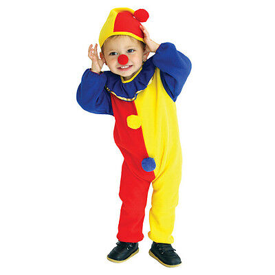New Baby Kids Clown Outfit Suit Costume Boy Halloween Props Cosplay Fancy Dress