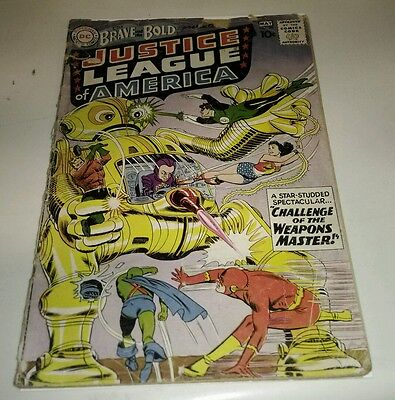 Dc comics brave and the bold 29 2nd appearance justice league silver key