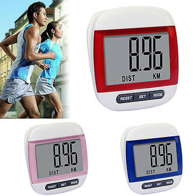 Cool Waterproof Step Movement Calories Counter Multi-Function Digital Pedometer