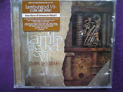 Lamb Of God / VII : Sturm Und Drang CD w/Two Bonus Tracks NEW SEALED