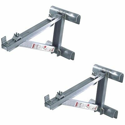WERNER AC10-14-02 Short Body Aluminum Ladder Jacks (Set of 2 - 1 Pair)-Up to 14""
