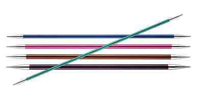 KnitPro Zing Double Pointed DPN'S Sock Needles Sizes 2mm - 8mm, 15cm & 20cm long