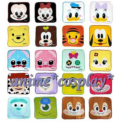 Lot Mixes Square Hand Towel Face Towels Party Kids Gifts 20x20cm
