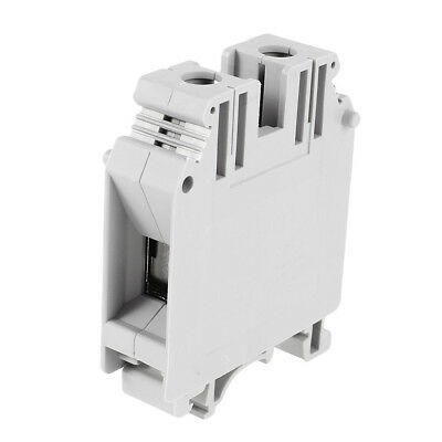 UK35N DIN Rail Mounted Screw Clipping Terminal Block 35mm2 1000V/150A 800V/125A
