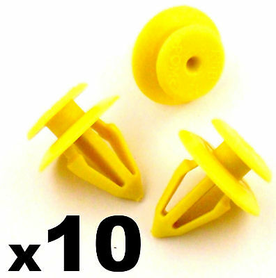 10x Seat Interior Door Card, Dashboard & Panel Retainer Trim Clips, 7M0867299K