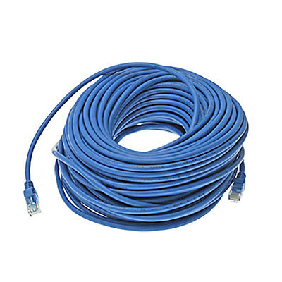 82ft 82 ft RJ45 Cat5e UTP Ethernet LAN Network Patch Cable Wire Blue 25M