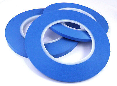 Acrylic Fine Line Masking Tape High Temperature 9mm x 55m Fineline for Bodyshop