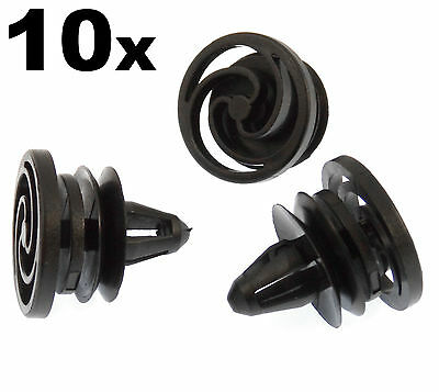 10x Seat Front & Rear Door Panel & Door Card Plastic Trim Clips- Trim Fasteners