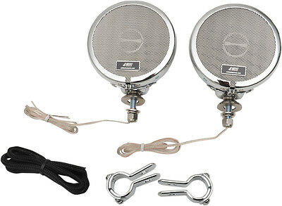 "MH Motorcycle Rumble Road Limited Stereo Chrome System For 1"" Bars"
