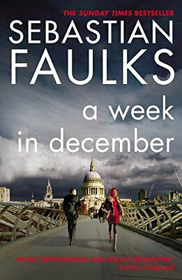 A Week in December by Faulks, Sebastian Paperback Book The Cheap Fast Free Post