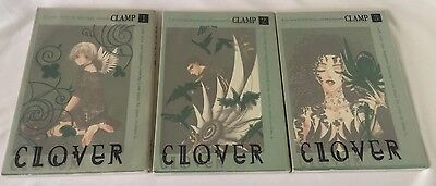 CLOVER CLAMP 1 - 3 Japanese Book Comic Manga Free Shipping