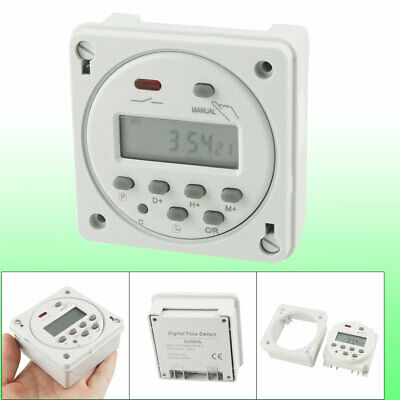 AC 110V 16A Weekly Digital Programmable Electronic Timer