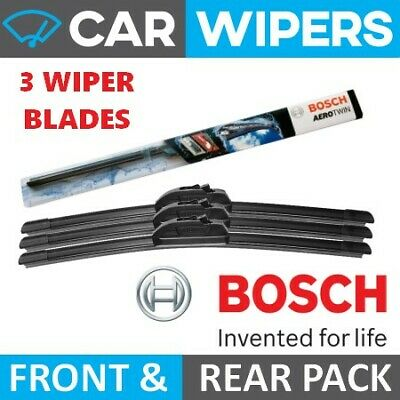 Ford Puma 1997-2002 Bosch Aerotwin Front & Rear Windscreen Wiper Blades