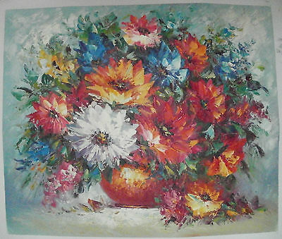 Flower Art 30 Images 2 Choose From 4 Oil Painting Rolled Or Stretched 20X24""