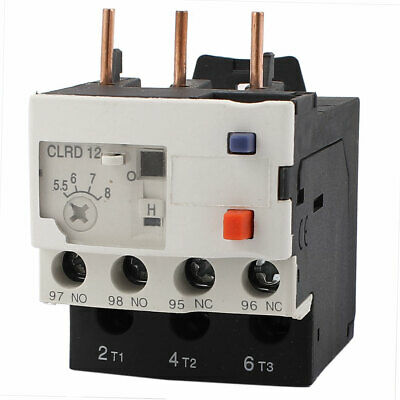 Thermal Protection Overload Relay 3 Pole CLRD12 5.5-8A AC 690V