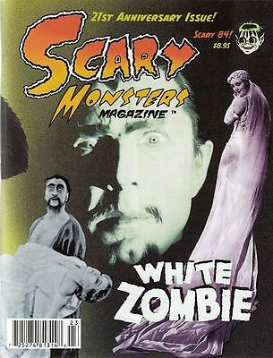 Scary Monsters Magazine #84 October 2012 Baggednew