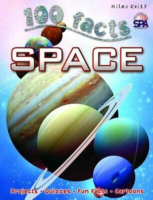 100 Facts Space by Sue Becklake Book The Cheap Fast Free Post
