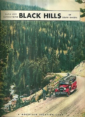 Vintage Guide to Rapid City South Dakota and Black Hills 1932