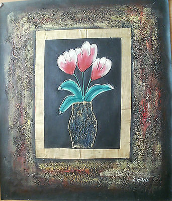 Flower Art 30 Images 2 Choose From 9 Oil Painting Rolled Or Stretched 20X24""