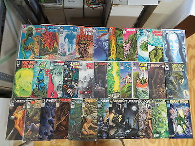 Swamp Thing 38 Issue Comic Run 66-133 Dc New Format