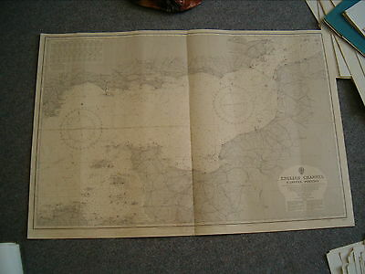 Vintage Admiralty Chart 2128 PLANS OF THE KURIL ISLANDS 1910 edn