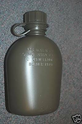 New Original Us Army Water Canteen (Made In Usa)