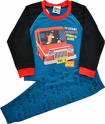PP34 Boys Postman Pat Snuggle Fit Pyjamas Sizes 12 Months to 5 Years