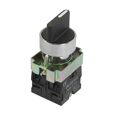 AC 660V 10A On/Off/On Momentary 3 Postion Rotary Selector Switch 22mm ZB2-BD53