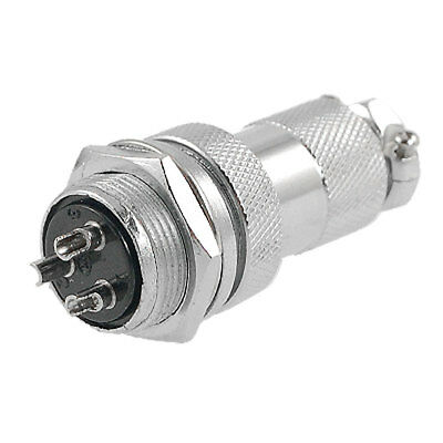 AC 250V 20A 3 Terminals Electric Deck Aviation Connector Adapter