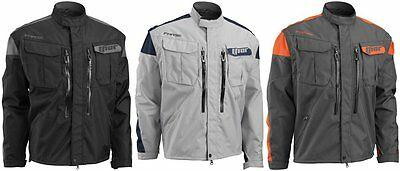 Thor Mens Phase Offroad Jacket with Zip Off Sleeves